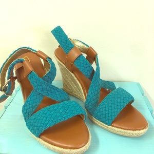 Cato Strapy Wedges Size 8 m